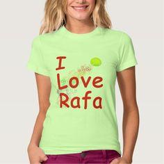 I Love Rafa Tennis Design T Shirt, Hoodie Sweatshirt