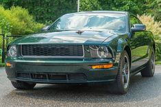 This 2009 Ford Mustang Bullitt was purchased new by the seller at Ron Bortnick Ford in Upper Marlboro, Maryland, and it now has 16k miles. It is finished in Dark Highland Green over Dark Charcoal leather and powered by a 4.6-liter V8 paired with a five-speed manual transmission and a limited-slip differential. Equipment includes 18″ alloy wheels, a strut-tower brace, a cold-air intake, air conditioning, cruise control, power windows and locks, a Shaker 500 audio system, ... 2009 Ford Mustang, Ford Mustang Bullitt, Ford Mustangs, Upper Marlboro, Limited Slip Differential, Cruise Control, Audio System, Manual Transmission, Alloy Wheel