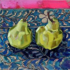 Still Life - Olive Stack Gallery Be Still, Still Life, People Art, Body Language, Pears, Oil, Gallery, Projects, Cooking Oil