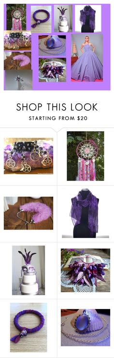 """Lavender and Blue Collection-From Treasures Cove Etsy Team"" by sharon-pipkin on Polyvore featuring Christian Siriano"