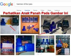 Hammer Of Thor Palu Palsu Kapsul Biru Dan Kuning Emas