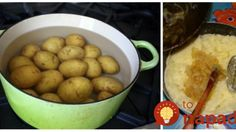 Tento zemiakový šalát je náš rodinný klenot: Pripravíte ho za 5 minút a nebude vám z neho ťažko, nie je v ňom majonéza! Food And Drink, Potatoes, Vegetables, Potato, Vegetable Recipes, Veggies