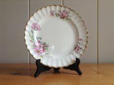 Limoges American Wild Rose Plate by FlorabundaVintage on Etsy