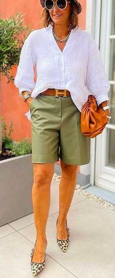 Short Outfits, Bermuda Shorts, My Style, Summer, Health, Fashion, Fashion Styles, Moda, Summer Time
