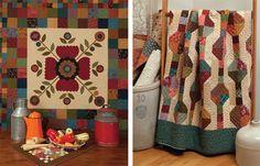 Four Patch Potpourri and Plain Jane quilts