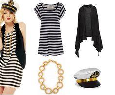 Outra opção de fantasia super cool e confortável, segundo a dupla de  fashionistas, é a de marinheira. Aposte naquelas peças com estampa navy que  você tem no ... 138263ea26