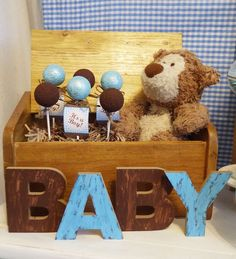 Teddy Bear  Baby Shower Party Ideas | Photo 3 of 22