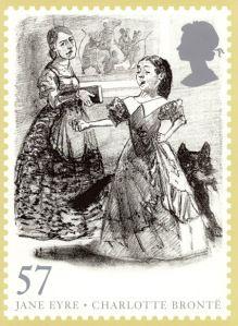 Jane Eyre stamp