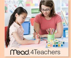 Sign up for Mead4Teachers and you'll receive free Mead products for you to use in your classroom.    Give your honest opinion about the products you try.