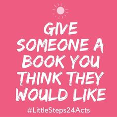 Random acts of kindness-day 9!  We all have those books that shape us...share one with a friend.  Kids can do this too!  #littlesteps24acts . . . #mylittlesteps #bookstagram #giveback #impact #kindness #randomactsofkindness #books
