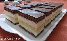 Recepty - Strana 3 z 100 - Vychytávkov Hungarian Desserts, Hungarian Cake, Hungarian Recipes, Czech Recipes, Cold Desserts, Cake Bars, Sweet And Salty, Winter Food, International Recipes