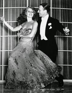 Vestuario de cine, costume design, Rita Hayworth, You were never lovelier. Irene
