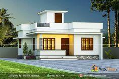 House Arch Design, Architect Design House, Village House Design, Kerala House Design, Bungalow House Design, Modern Small House Design, Modern Minimalist House, Simple House Design, Beautiful House Plans