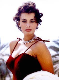 """summers-in-hollywood: """"Sophia Loren """""""