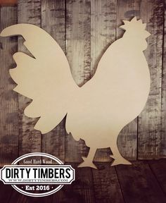 Unfinished Rooster door hangers Unfinished wood cut out. Buy 5 get 1 Free Affordable Home Decor, Cheap Home Decor, Country Interior Design, Wooden Cutouts, Diy Home Decor Projects, Sewing Projects, Do It Yourself Home, Scroll Saw, Door Hangers