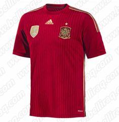 Acheter Maillot Espagne Domicile Coupe du monde 2014 Discount