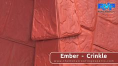 This Ember -Crinkle roof will not only protect your home for years, but it will give your home great curb appeal. It looks stunning paired with a light or white coloured brick.  You will be the envy of the neighbourhood with this roof.  Check out more at  www.rvp-roofing.com.  Don't forget to like and pin!  #RVP #armadura #highstrengthsteel #permanentroof #embercrinkle Roofing Systems, Protecting Your Home, Metal Roof, Crinkles, Looking Stunning, Curb Appeal, Envy, Don't Forget, The Neighbourhood