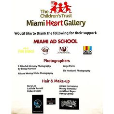 It's our honor. Thank you for letting us. Be a part of this! #maslife #gratitude @jorgeparraphotography Truly happy of contributing along with my colleague and friend Sid Hoeltzell one more year with the Miami Heart Gallery and the Children Trust to improve the chances of kids in foster care to find a family to raise them! A small donation of our talent to society! #jorgeparraphotography #portraitphotographermiami #miamiheartgalleryphotoshoot #miamiheartgallery #communityservice…