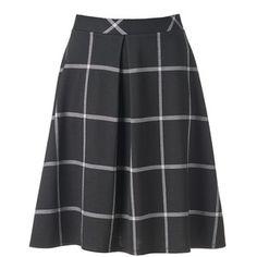 Women's Studio 253 Pleated Plaid Skirt