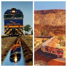 The Ghan - Adelaide to Darwin, stopping Uluru and Katherine