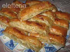 Γεύση Ελευθερίας: Πρασοκοτόπιτα σε ρολό Hot Dog Buns, Bread, Homemade, Snacks, Cooking, Recipes, Party Time, Food, Kitchen