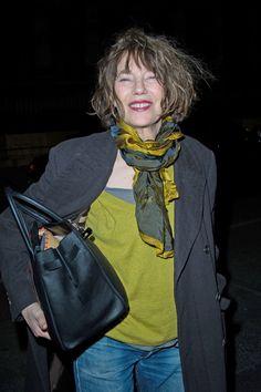 Jane Birkin Photos: Arrivals at the Hermes Fashion Show