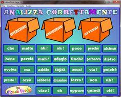 giochi e video per l'istruzione d'italiano