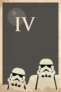 Star Wars Episode IV: A New Hope (1977) ~ Minimal Movie Poster by Malc Foy #amusementphile