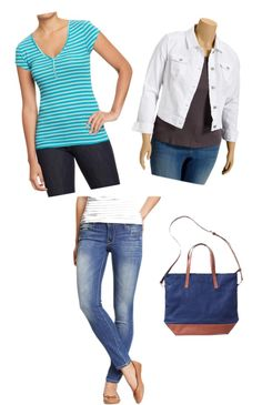"""""""Old Navy Tee Casual Look"""" by megan-linscheid on Polyvore"""