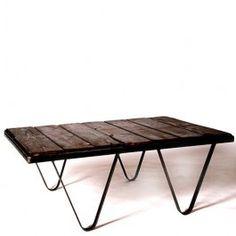 Factory Cart Coffee Table Steel Furniture, Custom Furniture, Cart Coffee Table, Vintage Industrial Furniture, Old Pallets, Outdoor Furniture, Outdoor Decor, Rustic, Design
