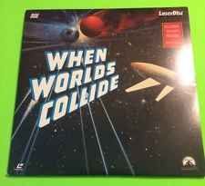 MOVIE LASERDISC 1951 WHEN WORLDS COLLIDE 2-DISC SET RICHARD DERR BARBARA RUSH