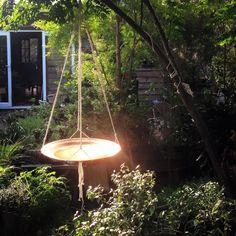 Spun Copper Dish in Macrame Hanger by Mallee Design Australian Garden Design, Australian Native Garden, Australian Birds, Ikea Garden Furniture, Diy Bird Feeder, Diy Pool, Garden Art, Garden Ideas, Backyard Ideas