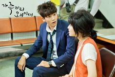 "Nam Ji Hyun & Park HyungSik in ""Whats Wrong With this Family"""