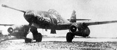 A Me-262 V083 outfitted with a 50mm Rheinmetall-Mauser BK-5 cannon was intended to be a heavy bomber destroyer. it was captured by the Americans and shipped to the united states. The jet was named Wilma Jeanne was named by a Watson Whizzers Master-Sergeant Eugene Freiburger wife but latter renamed Happy Hunter II. The prototype (only two made the other V899) was impressive the crew. they were impressed by the recoil-damping system which hardly moved the plane.