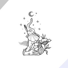 For that friend who deserve beautiful flowers after the week 💐💚 Cool Art Drawings, Animal Drawings, Easy Drawings, Tattoo Drawings, Drawing Sketches, Cute Tattoos, Body Art Tattoos, Small Tattoos, Sharpie Art