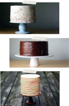 Simple, beautiful cakes
