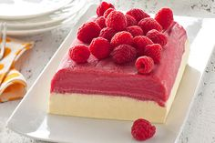 Watch this video to see how your favorite raspberry sorbet can give you a jump start to prepping a summer favorite frozen dessert.