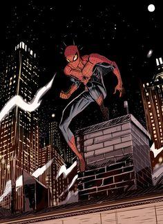 #Spiderman #Fan #Art. (Spiderman) By: Dan-Mora. (THE * 5 * STÅR * ÅWARD * OF: * AW YEAH, IT'S MAJOR ÅWESOMENESS!!!™)[THANK Ü 4 PINNING!!!<·><]<©>ÅÅÅ+(OB4E)    https://s-media-cache-ak0.pinimg.com/564x/d2/8f/0d/d28f0d9842cdd5b9380b075d57c2741b.jpg