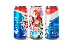 "China Version Pepsi Michael Jackson /""Bad/"" 25th Anniversary Empty Can"