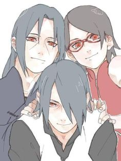*sigh* if only Itachi would be around to meet his niece...