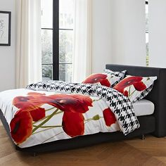 Essenza Mary Poppy Bedding Coordinates. I like this bedding but not for me