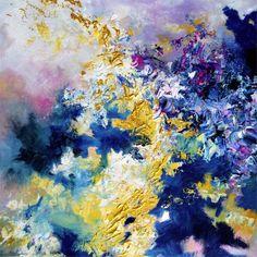 Little Wing by Jimi Hendrix - Melissa S. McCracken - http://ledgernote.com/blog/life/musical-synesthesia-paintings-by-melissa-mccracken/