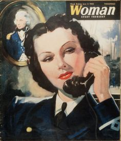 The June 6, 1942 cover of Woman magazine