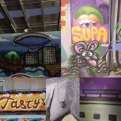 Tastywood wall detail supertramp #geelong #geelongphotographer #geelongcreatives #geelongart #geelongadvertiser #geelongstreetart #geelonggraffiti #geelongstreet #geelonggraff #geelongdesign #geelongdesigners #streetart #graffiti #geelongcats  #gtown  #gtownkll #geelongwaterfront #gtowngraff #art  #surfcoast #surfcoastcentury #geelongstreetartcollective #madeingtown #smilegeelong by geelongstreetartcollective http://ift.tt/1JtS0vo