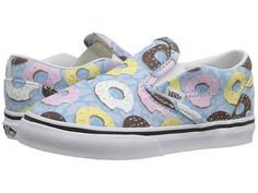 70800e9545b29d Vans kids classic slip on toddler late night skyway donuts