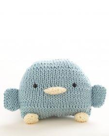 Loom-Knit this adorable bird from Martha Stewart Crafts Lion Brand® Yarn Extra Soft Wool Blend