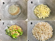 Sabudana Khichdi Recipe Step By Step- Cubes N Juliennes Lunch Box Recipes, Pizza Recipes, Yummy Recipes, Vegetarian Recipes, Snack Recipes, Cooking Recipes, Indian Snacks, Indian Food Recipes, Breakfast Snacks
