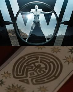 Is it just me or ...? Maze Diagram vs Westworld Image : westworld