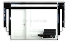 Majestic Original Handcrafted Art Deco Wall Mirror - All Mirrors - Mirrors