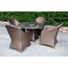 Bronze table set